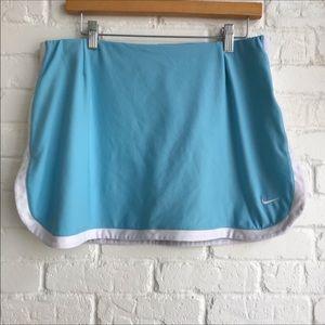 Nike dri fit tennis athletic skirt / skort large